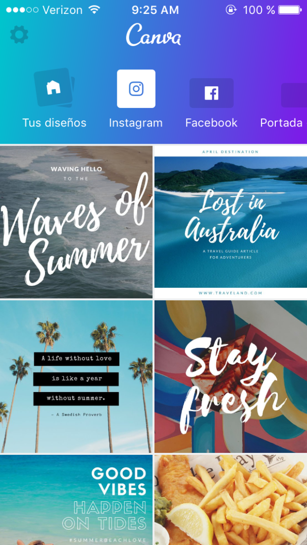 Apps for business: Canva app preview